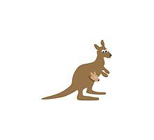 Kangaroo and Joey by Eggtooth