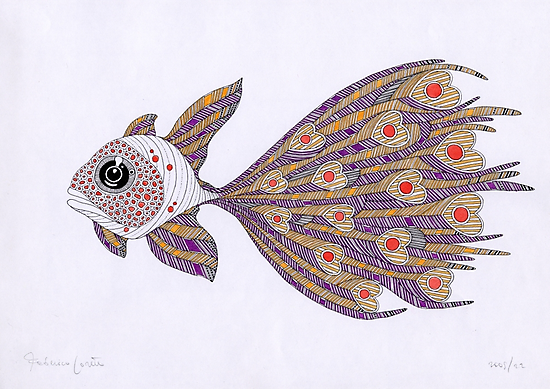 Fish of hearts by federico cortese