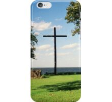 The Old Wooden Cross iPhone Case/Skin