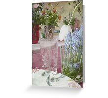 Country Vintage - Cottage No.3 Greeting Card