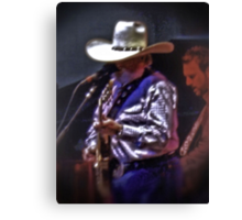 Charlie Daniels at the Guitar... products Canvas Print