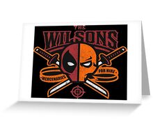 The Wilsons Greeting Card