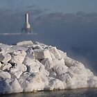 White Rocks and Port Washington Lighthouse by Timothy  Ruf
