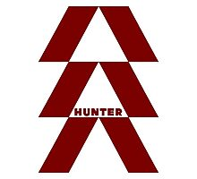 Destiny Game - Hunter Symbol Photographic Print