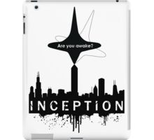 Minimalist Inception Poster - With Totem iPad Case/Skin