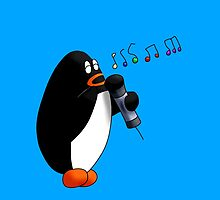 Singing Penguin by KakidaLily