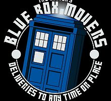 Blue Box Movers by manikx