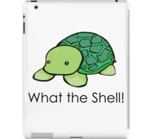 What the Shell! (Pun) iPad Case/Skin
