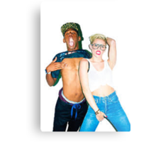 Tyler & Miley Metal Print