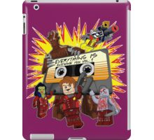 Everything Is Awesome Mix iPad Case/Skin