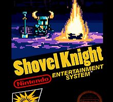 Retro Shovel Knight by Shadowmark