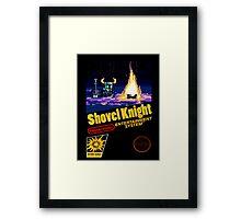 Retro Shovel Knight Framed Print