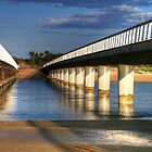 Between the Bridges at Barwon Heads by Christine Smith