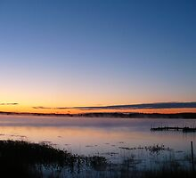 Long Night at the Lake by CarynAnneDesign