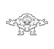 Graveler de los Muertos | Pokemon & Day of The Dead Mashup by abowersock