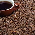 Coffee beans cup coffee by DavidMay
