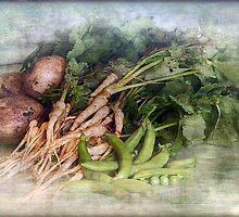 Peas Parsnips and Potatoes by Clare Colins