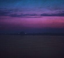 Purple Dusk  by JulianVasil