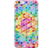 Rainbow Honeycomb with Stars iPhone Case/Skin