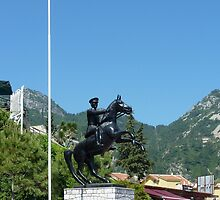 Turunc Statue of Ataturk by taiche