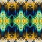 Emerald Kiss Abstract Art by Sharon Cummings by Sharon Cummings