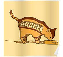 Cat Bus Totoro Poster