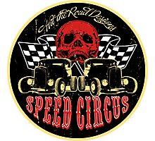 Speed Circus - Hit the Road Designs original art Photographic Print