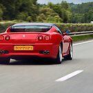 Red Ferrari by Buckwhite
