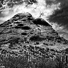 Papago Peak -- Phoenix, Arizona by Roger Passman