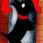 Scottie Dog 'Where is Santa?' by archyscottie