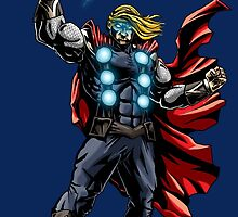 Thor - Lightning Strikes! by EJTees
