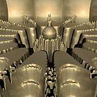 Golden Fractal #1 by perkinsdesigns