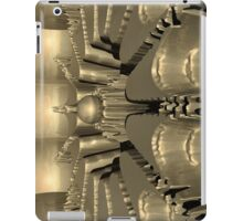 Golden Fractal #1 iPad Case/Skin