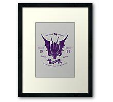 Dragon Knight Framed Print