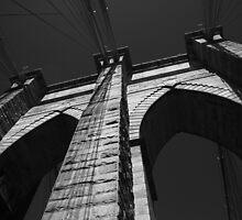 Brooklyn Bridge - New York City by Frank Romeo