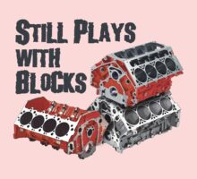 Still Plays With Blocks Kids Clothes