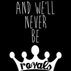 Lorde - Royals by anemophile