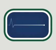 Vancouver Canucks Flatline by Phneepers