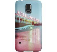 Rainy Motel Lights  Samsung Galaxy Case/Skin