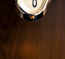 Melting Clock Sticker
