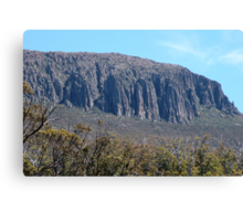 The Organ Pipes, Mount Wellington, Hobart Canvas Print