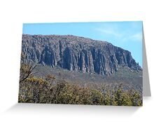 The Organ Pipes, Mount Wellington, Hobart Greeting Card