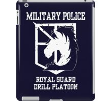 MILITARY POLICE - Drill Platoon iPad Case/Skin
