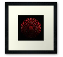 The Red Lotus Insignia Framed Print