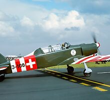 Pilatus P-2 J-108 G-BJAX by Colin Smedley