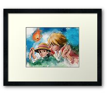 One Magical Family Sophie and Howl Framed Print