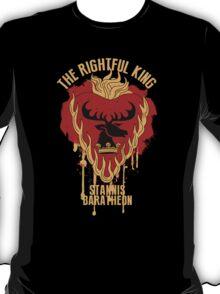 Stannis Baratheon Shirt Game of Thrones T-Shirt
