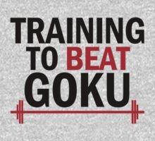 Training to beat Goku - Simple 3 by Lamamelle2nd