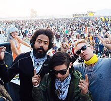 Diplo and skrilly at burning man by jesnerm