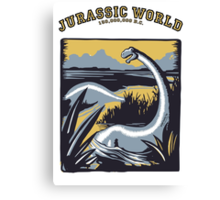 JURASSIC WORLD.... 150,000,000 B.C. !! Canvas Print